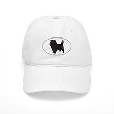 Cairn Terrier Silhouette Baseball Cap