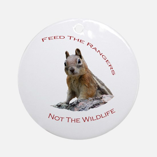 Feed The Rangers Ornament (Round)