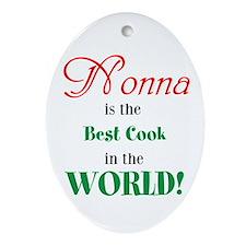 Nonna2 Ornament (Oval)