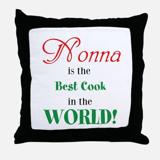 Nonna2 Throw Pillow
