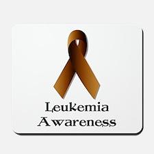 Leukemia Orange Ribbon Mousepad