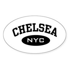 Chelsea NYC Oval Decal