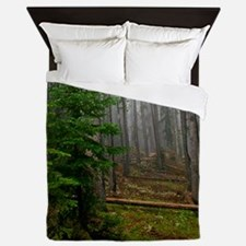 Pine forests 2 Queen Duvet