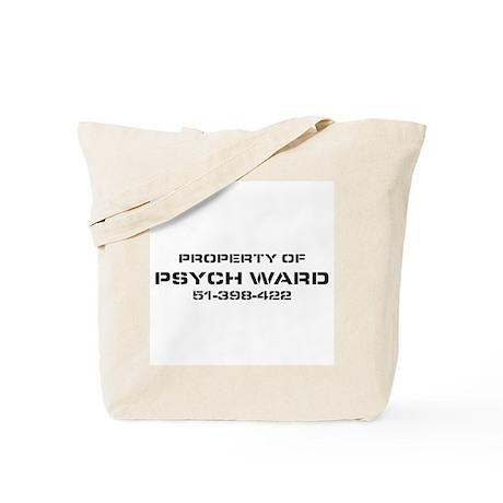 Property Of Psych Ward Tote Bag