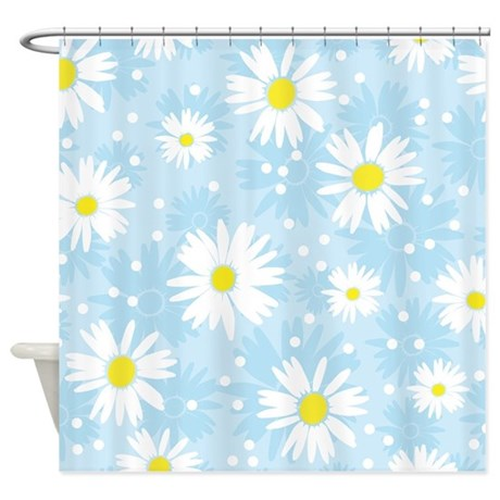 Cute Flowers Shower Curtain By BestShowerCurtains