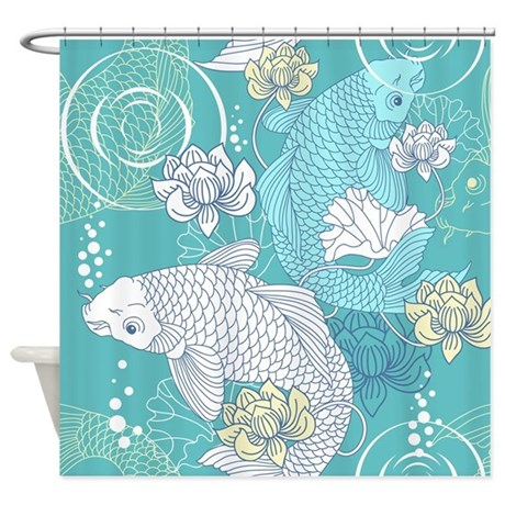 Koi Fish Shower Curtain By Bestshowercurtains