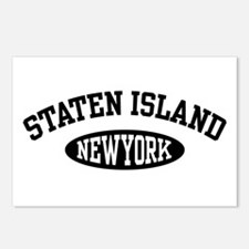 Staten Island New York Postcards (Package of 8)