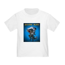 Chace Lobleys Shark man. Toddler T-Shirt