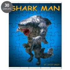 Chace Lobleys Shark man. Puzzle