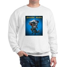 Chace Lobleys Shark man. Sweatshirt