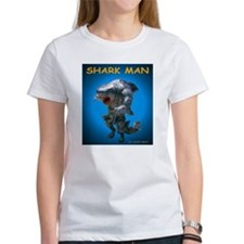 Chace Lobleys Shark man. Women's T-Shirt