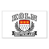 Cologne Bumper Stickers