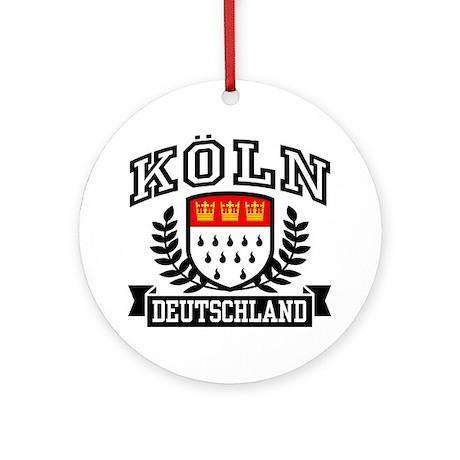 Koln Deutschland Ornament (Round)