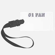 #1 Fan Luggage Tag