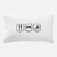 Eat Sleep Swim Pillow Case