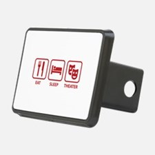 Eat Sleep Theater Hitch Cover