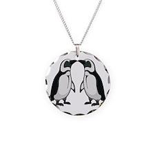 Penguin Kiss Necklace