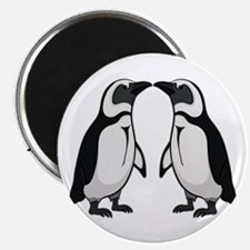 Penguin Kiss Magnet