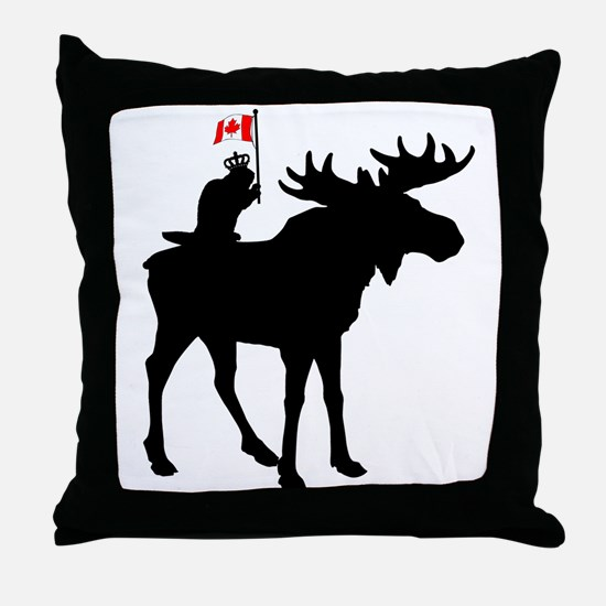 Oh Canada ! Throw Pillow