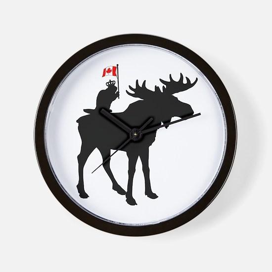 Oh Canada ! Wall Clock