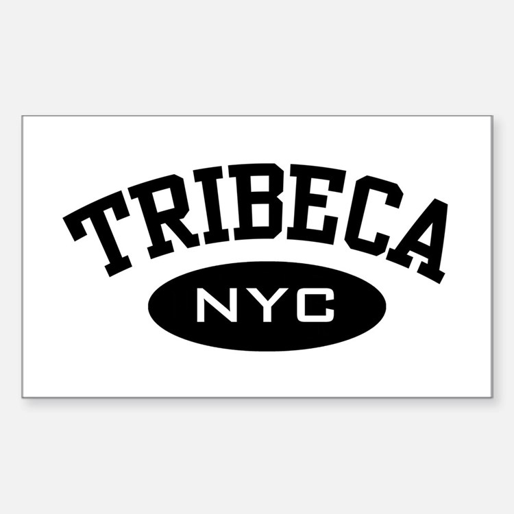 Tribeca NYC Rectangle Decal