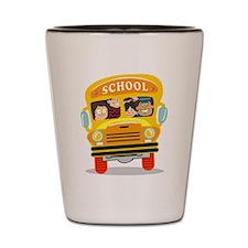 Bus Shot Glass
