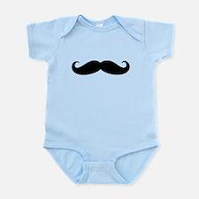 Movember Moustache Infant Bodysuit