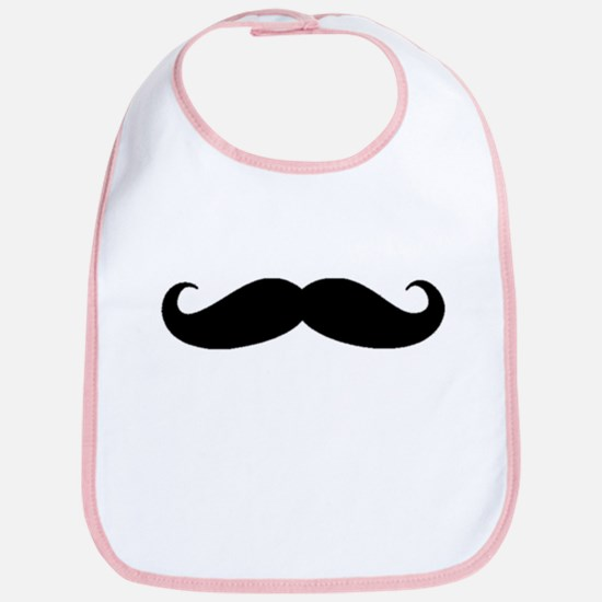Movember Moustache Bib