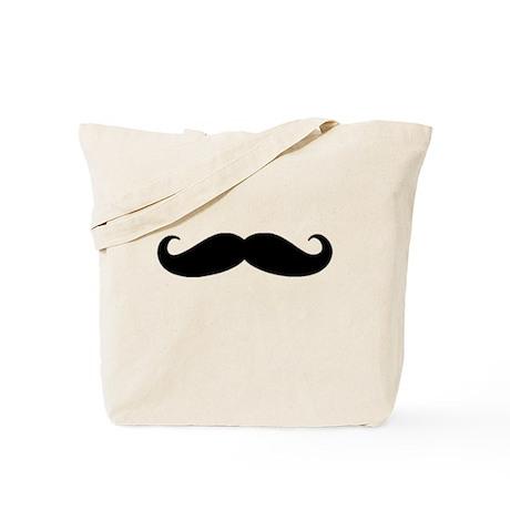 Movember Moustache Tote Bag