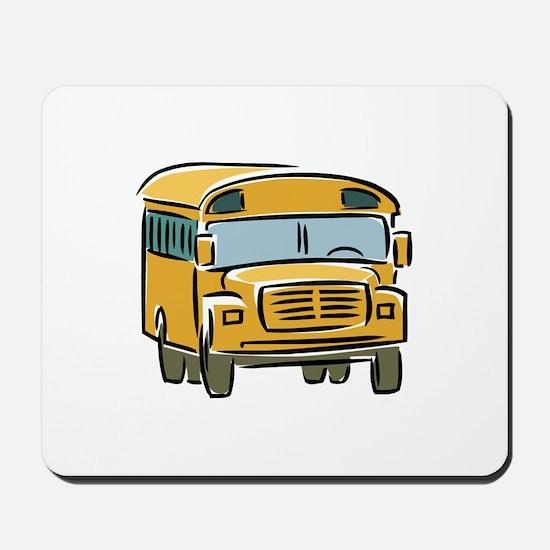 Bus Mousepad