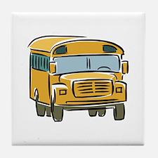 Bus Tile Coaster