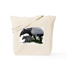 Malayan Tapir and Young Tote Bag