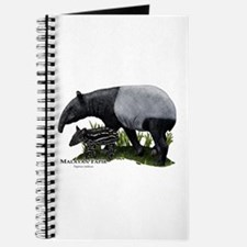 Malayan Tapir and Young Journal