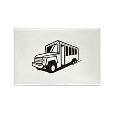 Bus Rectangle Magnet (10 pack)