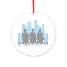 Urban Scholar Athletes Ornament (Round)