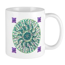 Sun Flower of Life Mug