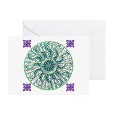 Sun Flower of Life Greeting Cards (Pk of 20)