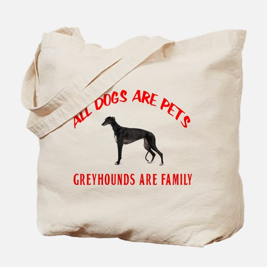 GREYHOUND FAMILY Tote Bag