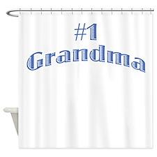 #1 Grandma Shower Curtain