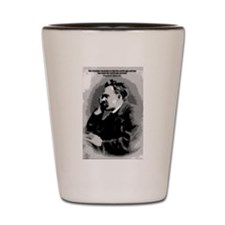 Nietzsche Shot Glass