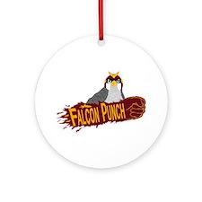 Falcon Punch Ornament (Round)