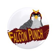 "Falcon Punch 3.5"" Button"