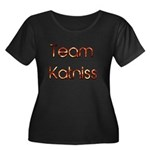 Team Katniss ( flame) Women's Plus Size Scoop Neck