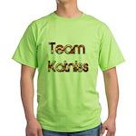Team Katniss ( flame) Green T-Shirt