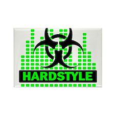 Hardstyle Rectangle Magnet