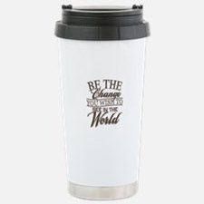 Be The Change Stainless Steel Travel Mug
