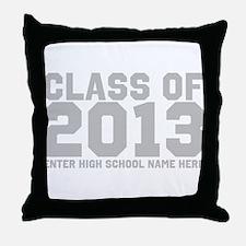 2013 Graduation Throw Pillow