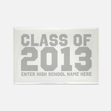 2013 Graduation Rectangle Magnet (10 pack)