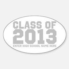 2013 Graduation Sticker (Oval)