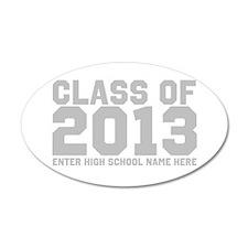 2013 Graduation Wall Decal